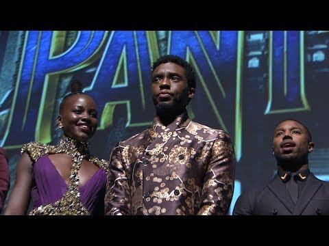 Black Panther World Premiere Red Carpet - Chadwick Boseman, Michael B. Jordan, Danai Gurira