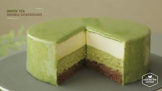 녹차 더블 치즈케이크 만들기 : Green tea(Matcha) Double Cheesecake Recipe  Cooking tree