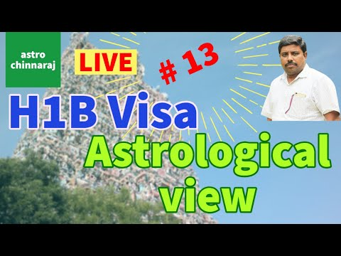 Live - USA H1B Visa Astrological view