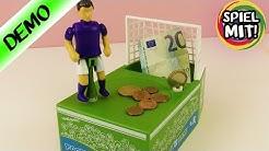 VERRÜCKTE SPARDOSE SCHIEßT GELD INS TOR! Elektronische Money Football Bank - Spiel mit mir Kanal