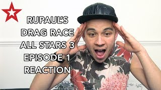 RuPaul's Drag Race All Stars 3 Episode 1 | Reaction
