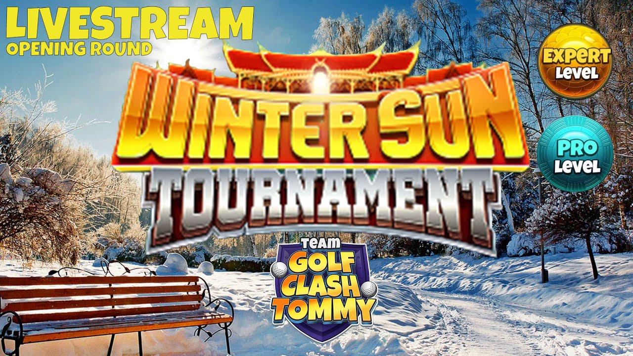 Golf Clash Livestream Early Look Pro Expert Winter Sun Tournament Youtube