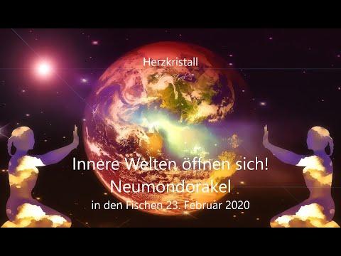 Neumond Orakel 23.Februar 2020 - Innere Welten öffnen sich!