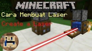Cara Membuat Laser di MCPE , How to make laser : Minecraft Creation Indonesia
