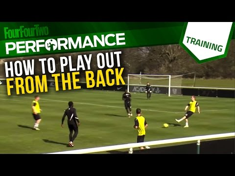 How to play out from the back | Soccer drill | Tactics | Nike Academy