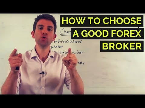 How to Choose A Good Forex Broker ⭐