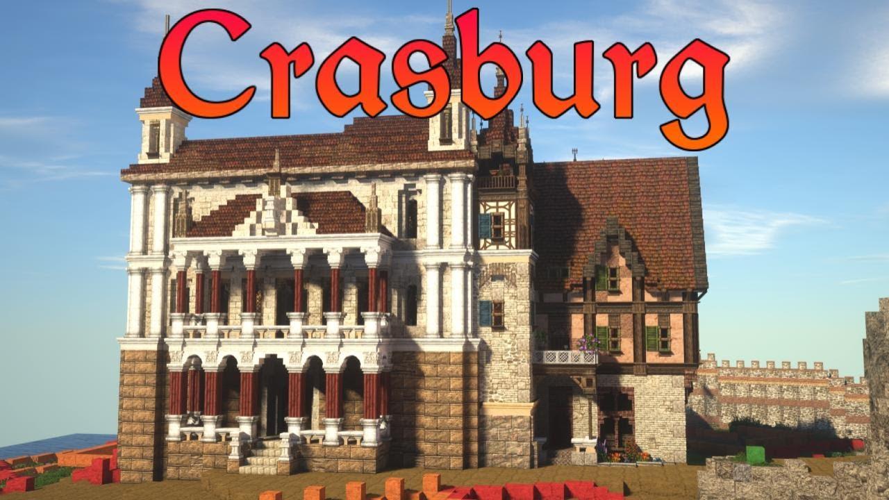 Medieval Theatre | Crasburg | Episode 84 - Medieval Minecraft City Building