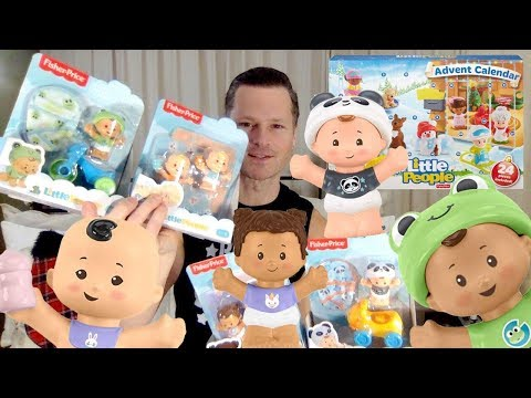 CHRISTMAS DAY17 TOP TOY OF THE YEAR LITTLE PEOPLE BABIES & ADVENT CALENDAR