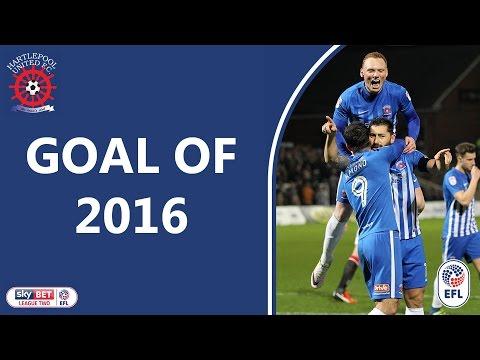 Hartlepool United Goal Of 2016