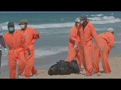 Leichen illegaler Einwanderer an libyscher Küste angeschwemmt
