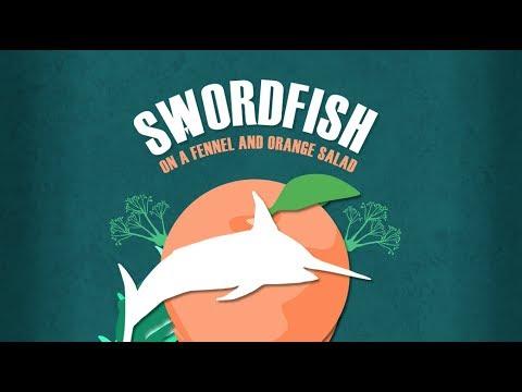 Chefs Marta Pulini And Gabrielle Hamilton Make Swordfish With Fennel & Orange Salad
