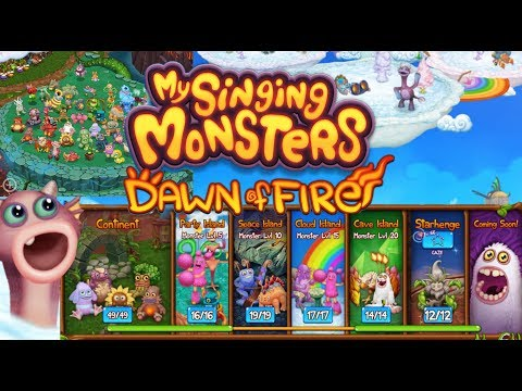 Quick Look at My Dawn of Fire Game...News of New Monsters Coming 😱