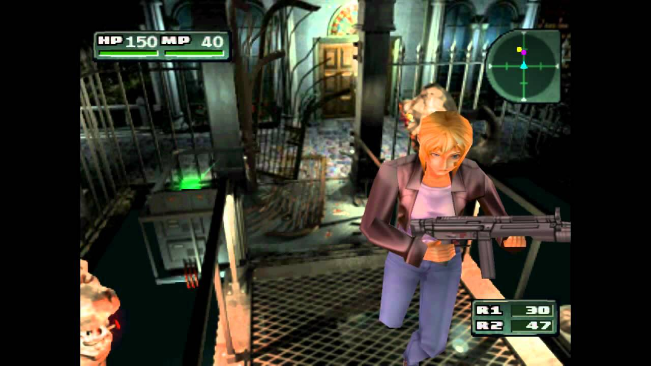Parasite Eve 2 >> 02 Parasite Eve 2 Walkthrough No 9 Boss