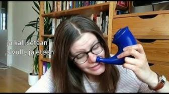 Vokologin viisi vinkkiä flunssan hoitoon