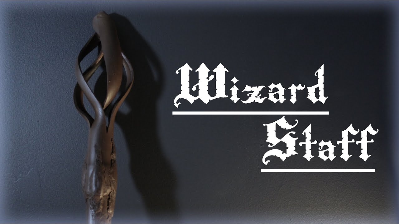 how to draw a wizard staff