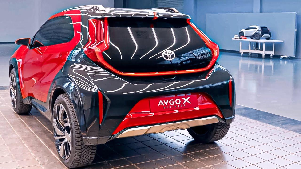 تويوتا أيغو أكس برولوكس 2022 Toyota AYGO X prologue