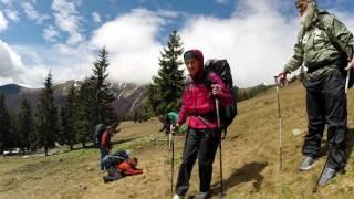 Five-day hike in Transcarpathia/ Горный ультра марафон