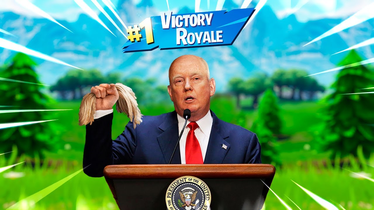 Fortnite Memes Donald Trump Does Not Approve Youtube