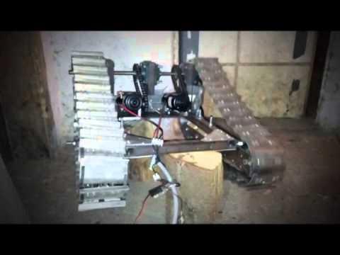 Homemade Rc Bulldozer Inspired By Metelbod Part3 Youtube