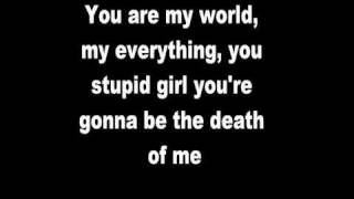 Framing Hanley: You Stupid Girl (Lyrics)