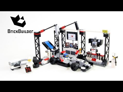 Lego Speed Champions 75911 McLaren Mercedes Pit Stop - Lego Speed build