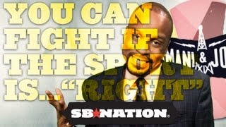 """You Can Fight If The Sport Is...""""Right""""; Bomani & Jones, episode 64"""