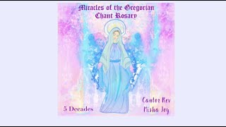 """5 Decades """"Miracles of the Gregorian Chant Rosary"""" with words to follow [Ave Maria Records]"""