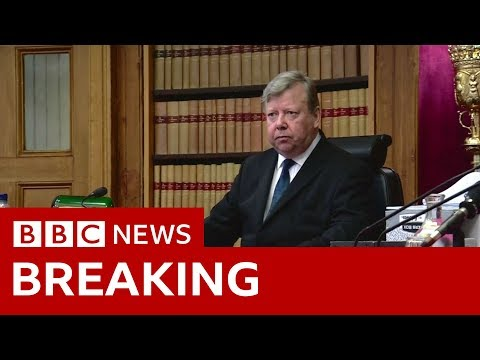 Brexit: Scottish judges rule Parliament suspension is unlawful - BBC News