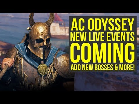 Assassin's Creed Odyssey DLC NEW LIVE EVENTS Announced & More Post Launch News (AC Odyssey DLC) thumbnail