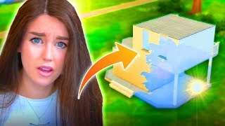 Can I turn this box into something AMAZING...? (Sims 4 SHELL Challenge!)
