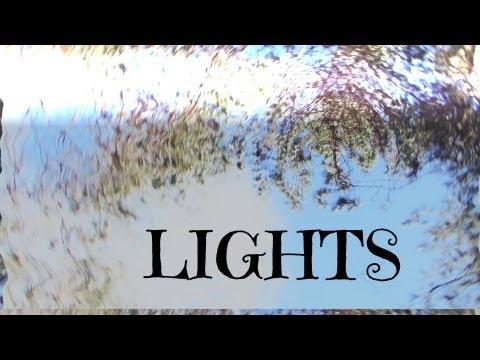 Lights - Ellie Goulding. (Music Video)
