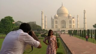 video: Watch: Taj Mahal reopens to visitors after six months