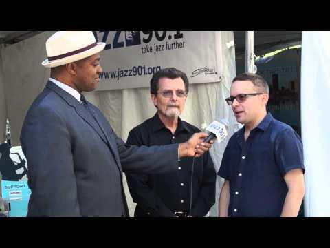 Derrick Lucas with Bill Dobbins and John Snieder