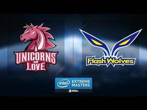 LoL - UoL vs. Flash wolves - Group B Winners' Match Game 1 - IEM Katowice 2017