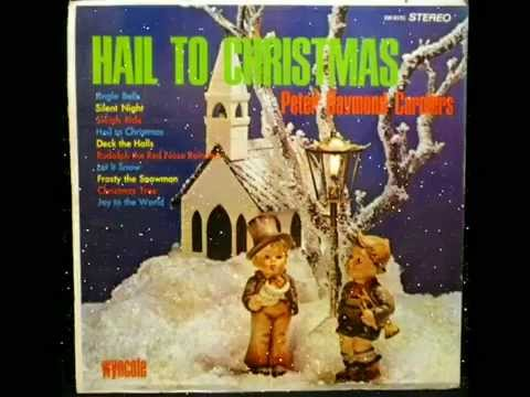 """Hail To Christmas"" music vintage vinyl lp record"