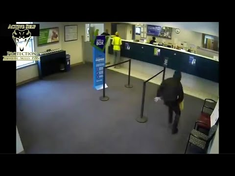 Off Duty Officer Shoots Bank Robber
