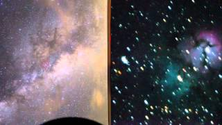 Astronomy Time-lapse - Telescope Point of View