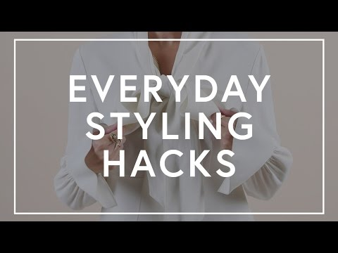 Everyday Styling Hacks   The Zoe Report by Rachel Zoe