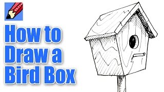 How to draw a Bird Box Real Easy