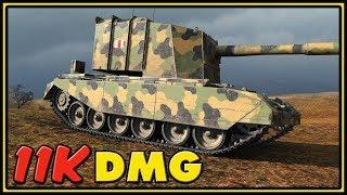 9.20.1 - FV4005 Stage II - 11,3K Dmg - World of Tanks Gameplay