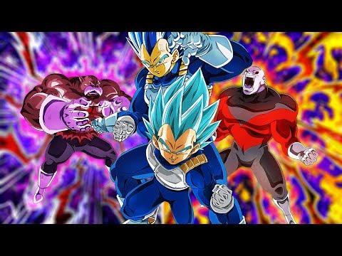 FULL POWER JIREN DOKKAN AWAKEN, HAKAISHIN TOPPO, & SUPER SAIYAN BLUE VEGETA EVOLUTION!