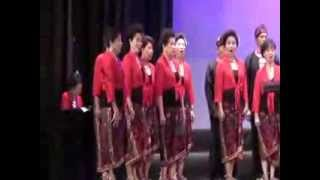 INDONESIA JAYA  - VAJRA GITA NUSANTARA CHOIR - INDONESIA