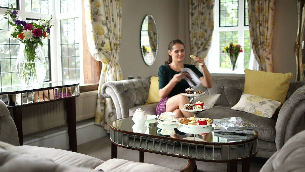 Arielle capri and charlston ranges by laura ashley youtube for Salon laura ashley