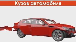 видео Кузов легкового автомобиля - устройство, какие типы кузовов бывают