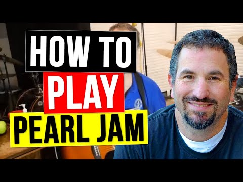 How to Play Porch on Acoustic Guitar - Pearl Jam Unplugged