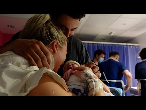 BIRTH VLOG *RAW* | INDUCTION, LABOUR & DELIVERY OF OUR FIRST BABY