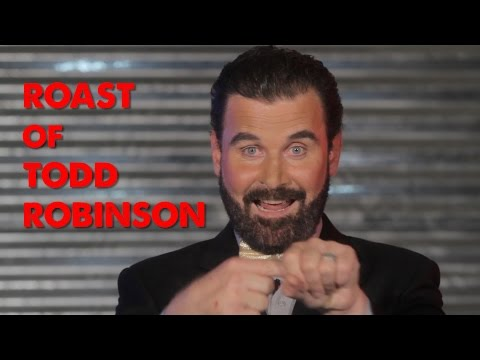 TODD A. ROBINSON ROAST BLOOPER VIDEO