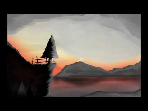 FINISHED SketchBook/ Speed art (Time lapse) Original landscape drawing (Mouse)