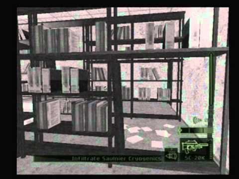 Splinter Cell Pandora Tomorrow Paris, France, Mission 2, Part 1 of 2, Hard Difficulty, PS2