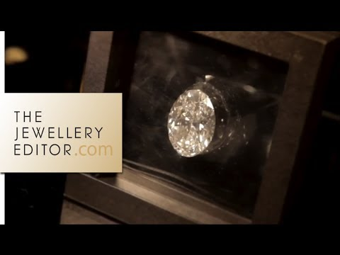 World-record-breaking diamonds at Sotheby's London